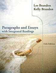 Paragraphs and Essays 12th edition 9781133309994 1133309992
