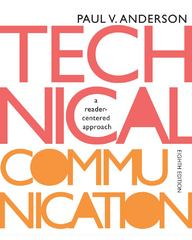 Technical Communication 8th edition 9781133309819 113330981X