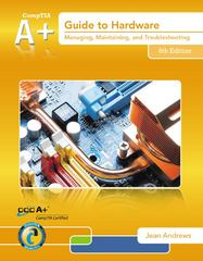 A+ Guide to Hardware (Book Only) 6th Edition 9781285605692 1285605691