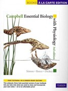 Campbell Essential Biology with Physiology, Books a la Carte Plus MasteringBiology 3rd edition 9780321693105 0321693108