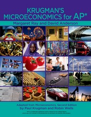 Krugman's Microeconomics for AP* 1st Edition 9781464113673 146411367X