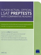 10 New Actual, Official LSAT Preptests with Comparative Reading 1st Edition 9780984636006 0984636005