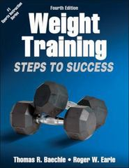 Weight Training 4th Edition 9781450411684 1450411681