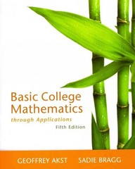Basic College Mathematics through Applications 5th edition 9780321831415 0321831411