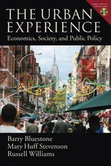 The Urban Experience 1st Edition 9780195313086 0195313089
