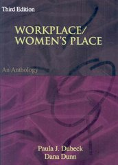 Workplace/Women's Place 3rd Edition 9780195335262 0195335260