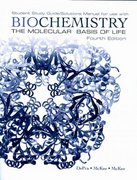 Biochemistry: The Molecular Basis of Life Student Study Guide / Solutions Manual 4th Edition 9780195342925 0195342925