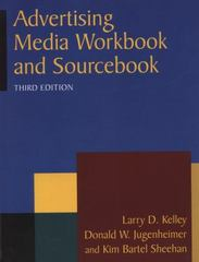 Advertising Media Workbook and Sourcebook 3rd Edition 9780765626387 0765626381