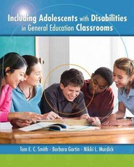 Including Adolescents with Disabilities in General Education Classrooms 1st Edition 9780135014967 0135014964