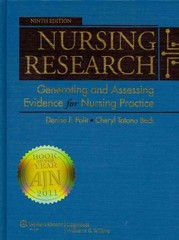Polit Nursing Research 9E NA + Polit Research Manual for Nursing Research 9e Package 9th edition 9781451145977 1451145977