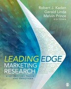 Leading Edge Marketing Research 1st Edition 9781412991315 1412991315