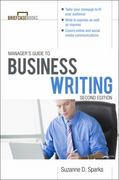 Manager's Guide To Business Writing 2/E 2nd edition 9780071772266 007177226X