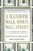 A Random Walk Down Wall Street 1st Edition 9780393340747 0393340740