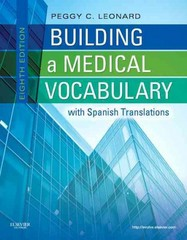 Building a Medical Vocabulary 8th edition 9781437727845 1437727840