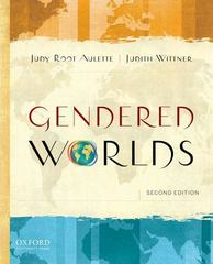 Gendered Worlds 2nd Edition 9780199774043 0199774048