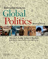 Introduction to Global Politics 0 9780199765836 0199765839