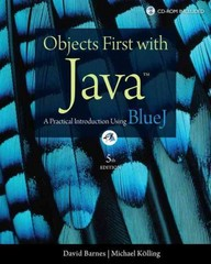 Objects First with Java 5th Edition 9780132492669 0132492660