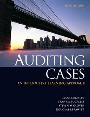Auditing Cases 5th edition 9780132567237 0132567237