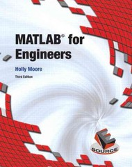 MATLAB for Engineers 3rd edition 9780132103251 0132103257