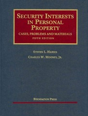 Security Interests in Personal Property 5th Edition 9781599417127 159941712X