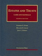 Estates and Trusts 4th Edition 9781599419282 1599419289