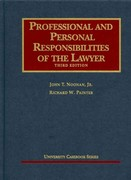 Professional and Personal Responsibilities of the Lawyer 3rd Edition 9781599417684 1599417685