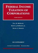 Federal Income Taxation of Corporations 3rd edition 9781599419831 1599419831
