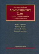 Administrative Law 11th Edition 9781599414294 1599414295