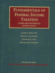 Fundamentals of Federal Income Taxation 16th Edition 9781609300081 1609300084