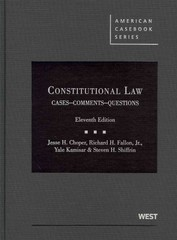Constitutional Law 11th edition 9780314904683 0314904689