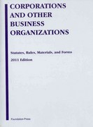 Eisenberg's Corporations and Other Business Organizations 0 9781599419466 1599419467