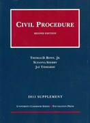 Civil Procedure 2nd edition 9781609300425 1609300424