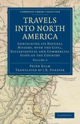 Travels into North America 1st edition 9781108031509 1108031501