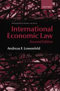 International Economic Law 2nd edition 9780199226948 0199226946