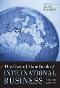 The Oxford Handbook of International Business 2nd edition 9780199234257 0199234256
