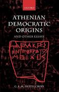 Athenian Democratic Origins 0 9780199255177 0199255172