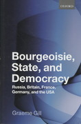 Bourgeoisie, State and Democracy 0 9780199544684 0199544689