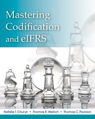 Mastering FASB Codification and eIFRS 1st Edition 9781118214626 1118214625