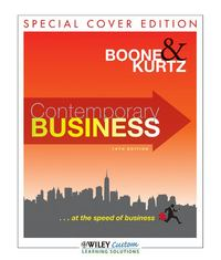 Contemporary Business 14th Edition for Western District 14th edition 9781118114070 1118114078