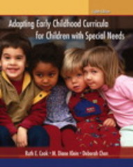 Adapting Early Childhood Curricula for Children with Special Needs 8th Edition 9780132999823 013299982X