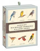 Sibley Backyard Birding Flashcards 1st Edition 9780307888976 0307888975