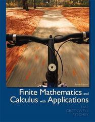 Finite Mathematics and Calculus with Applications 9th Edition 9780321749086 0321749081