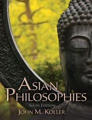 Asian Philosophies 6th edition 9780205168989 0205168981