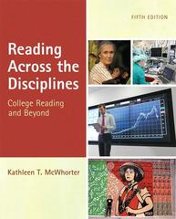 Reading Across the Disciplines 5th Edition 9780205184767 0205184766