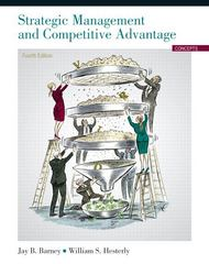Strategic Management and Competitive Advantage 4th edition 9780132546348 0132546345