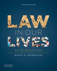 Law in Our Lives 3rd Edition 9780199840748 0199840741
