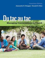 Du tac au tac 4th edition 9781285629490 1285629493