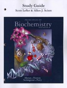 Study Guide for Principles of Biochemistry 5th Edition 9780321752765 0321752767