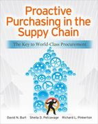 Proactive Purchasing in the Supply Chain: The Key to World-Class Procurement 1st Edition 9780071770613 0071770615