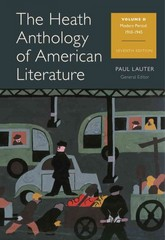 The Heath Anthology of American Literature 7th edition 9781133310259 1133310257
